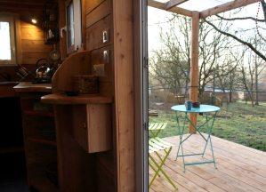 aménagement terrasse tiny house
