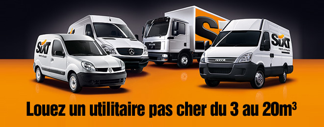 Location utilitaire Sixt