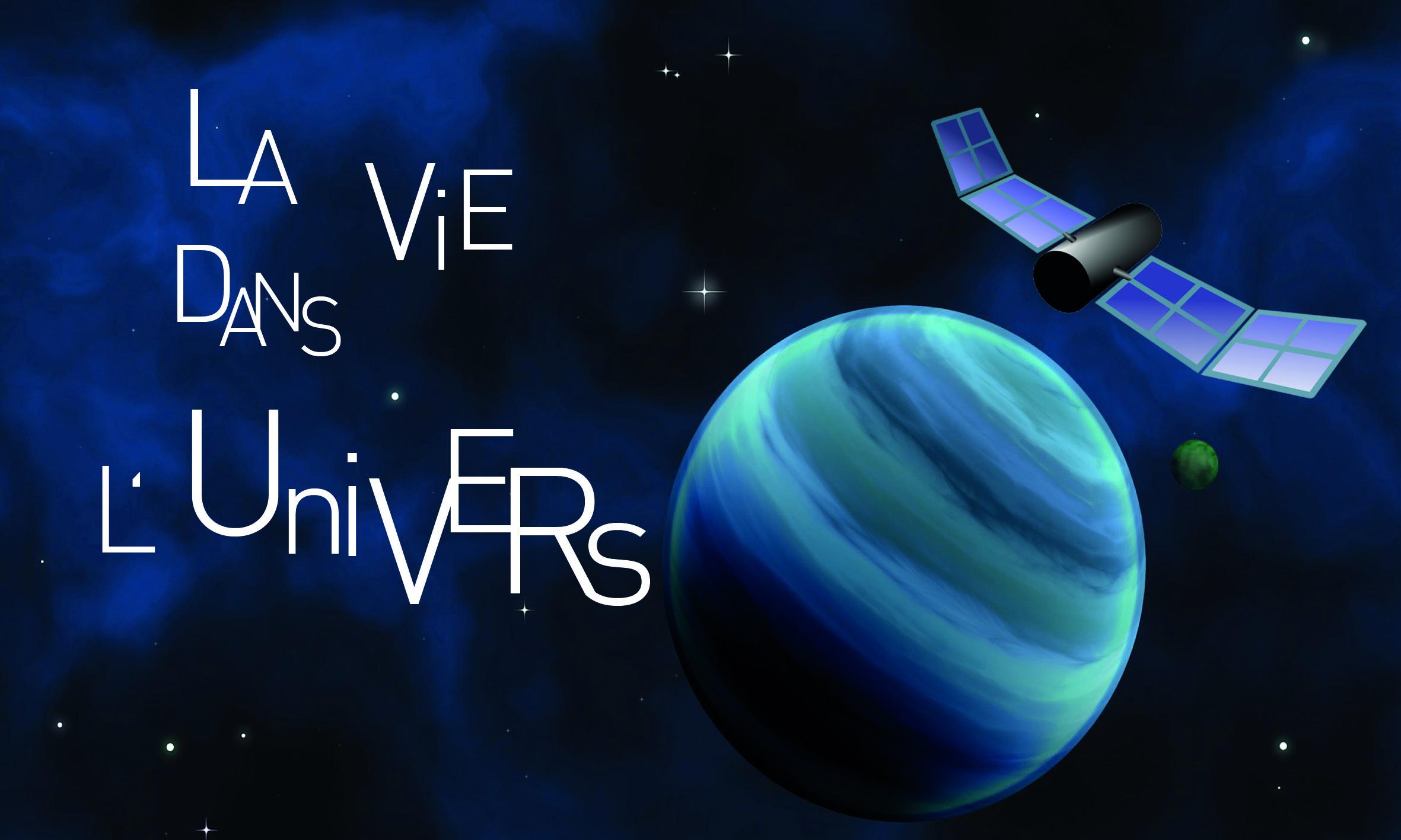 Logo Exposition Vie dans l'univers
