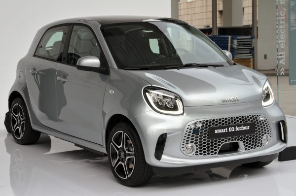 Smart Forfour Groupe A