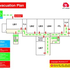 Example Of Fire Exit Diagram Can Am Outlander Wiring Evacuation Plans Escape And Assembly