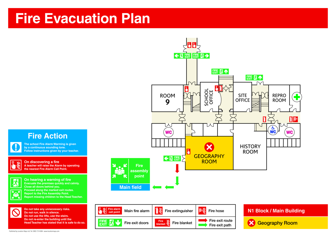 Fire Evacuation Plans Fire Escape Plans And Fire Assembly
