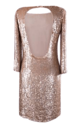 robe en sequin tara jarmon dresswing
