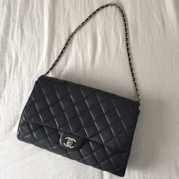 Chanel classic Timeless à rabat - DressingAvenue