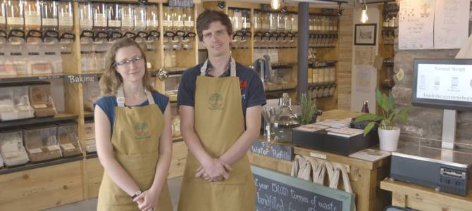 Zero waste shop wins award as 'Blue Planet' effect grows