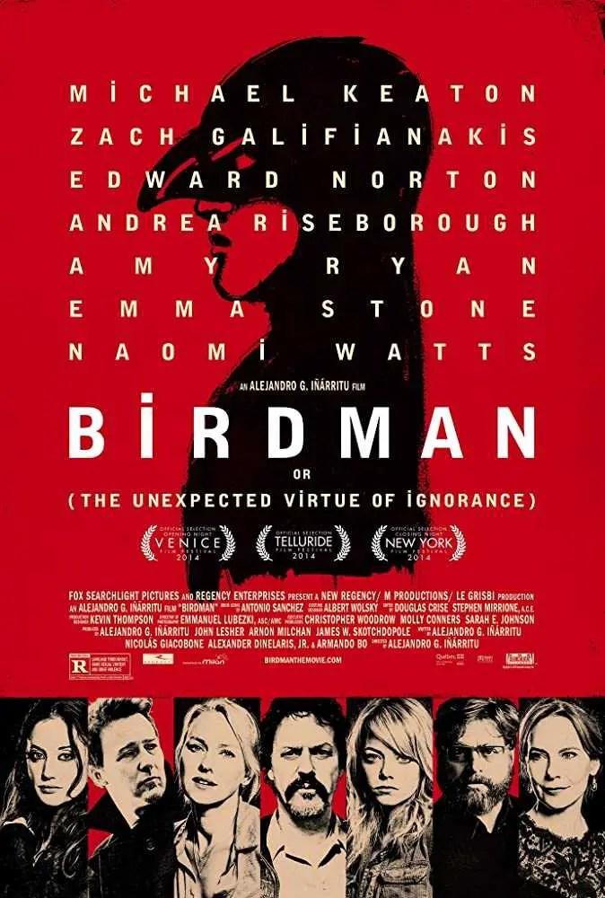 Birdman locandina film