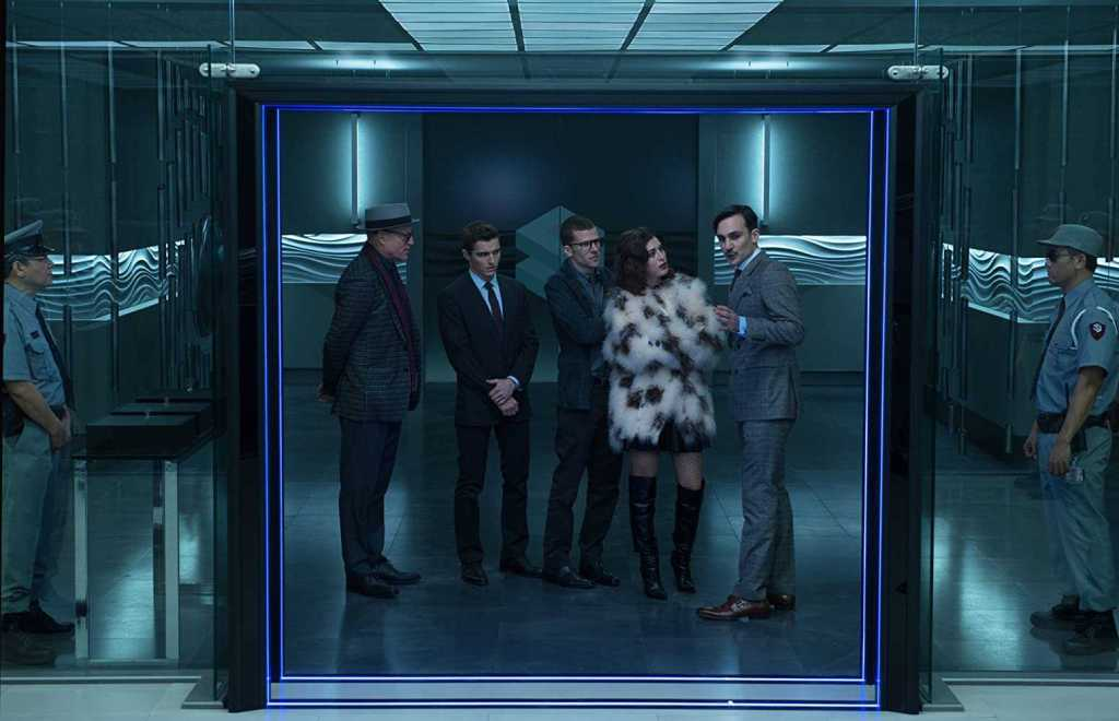 Woody Harrelson, Lizzy Caplan, Jesse Eisenberg, Henry Lloyd-Hughes, Dave Franco in Now You See Me 2