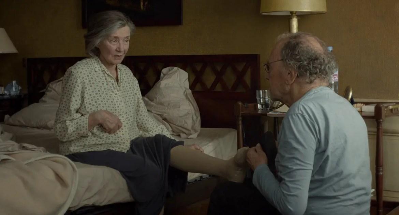 Amour: il dolore della perdita l'occhio del cineasta1