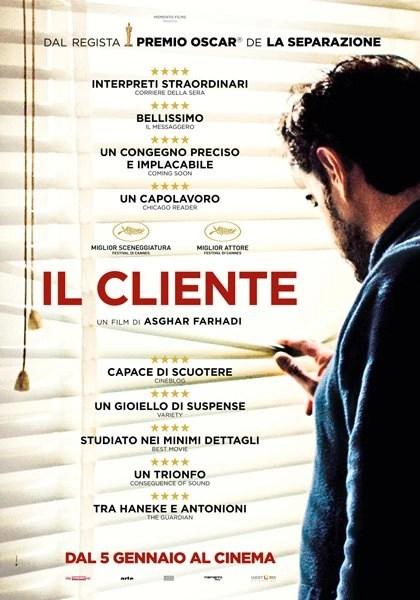 Il cliente locandina italiana film