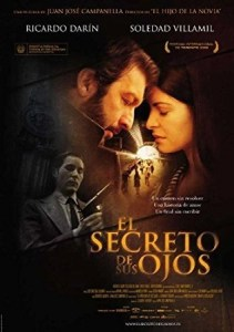 il segreto dei suoi occhi poster l'occhio del cineasta la recensione
