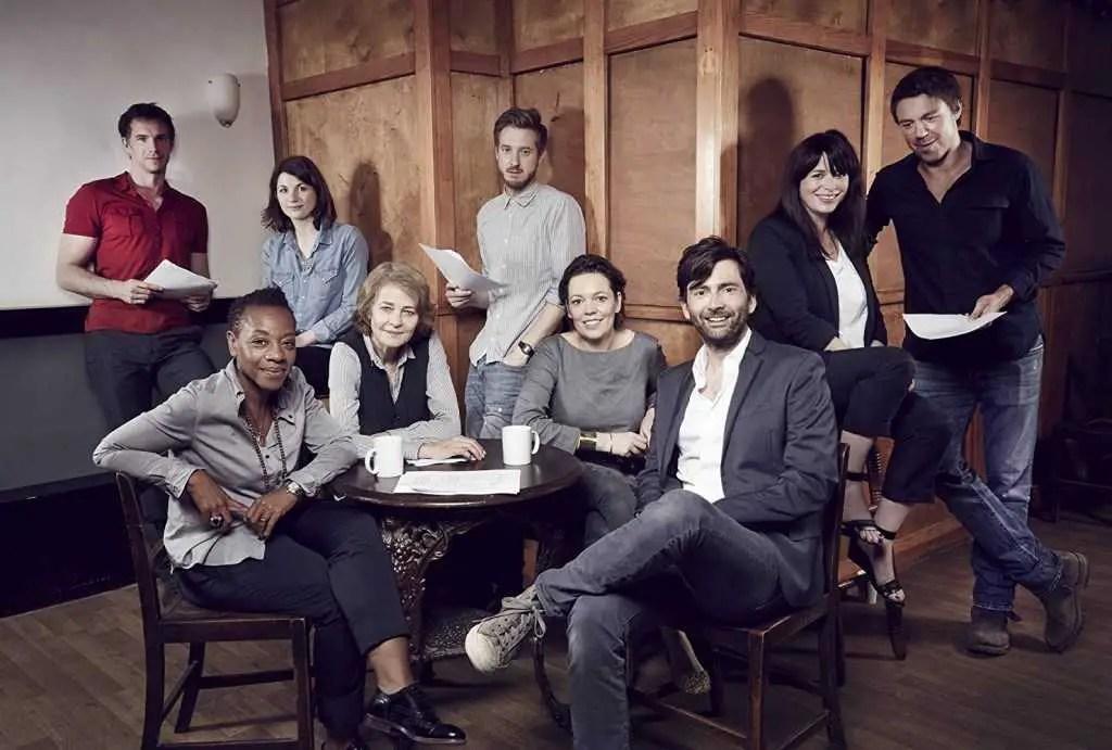 Il cast di Broadchurch