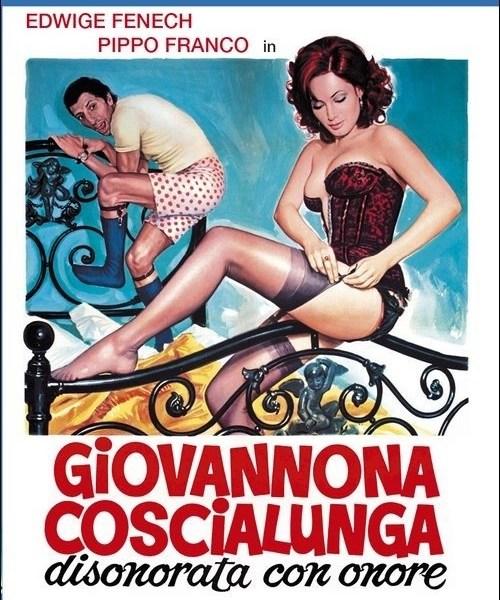 locandina movie giovannona coscialunga disonorata con onore sergio martino