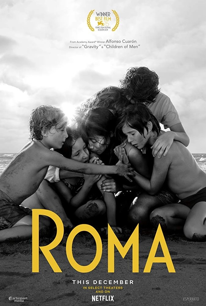 Roma locandina del film