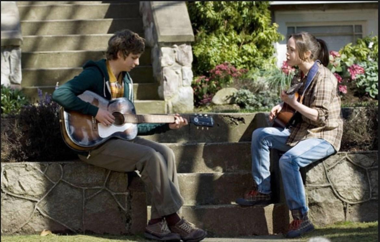 Ellen Page Michael Austin Cera in Juno (2007)