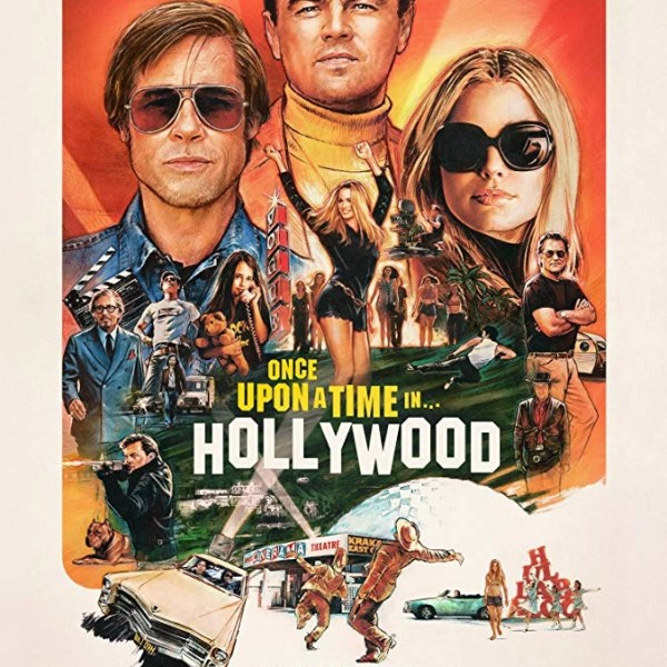 poster c'era una volta a... Hollywood