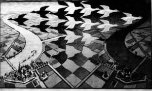 Escher viaggio nell'infinito