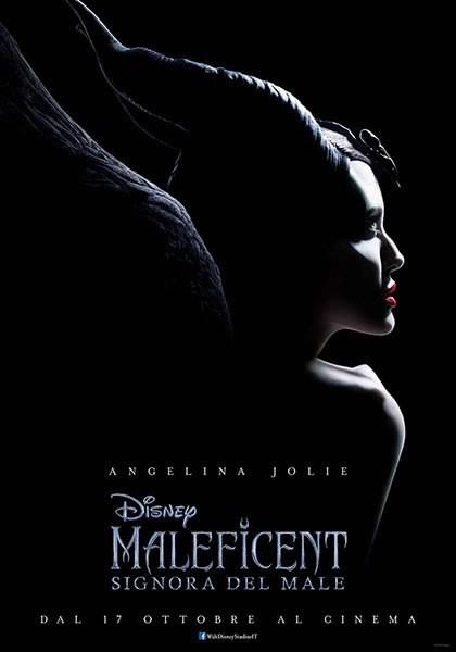 Maleficent signora del male locandina