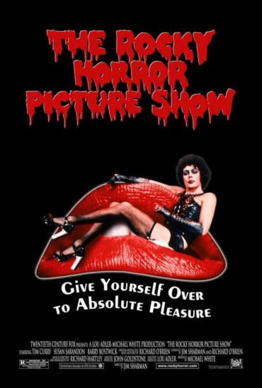 Susan Sarandon and Barry Bostwick in The Rocky Horror Picture Show (1975) poster