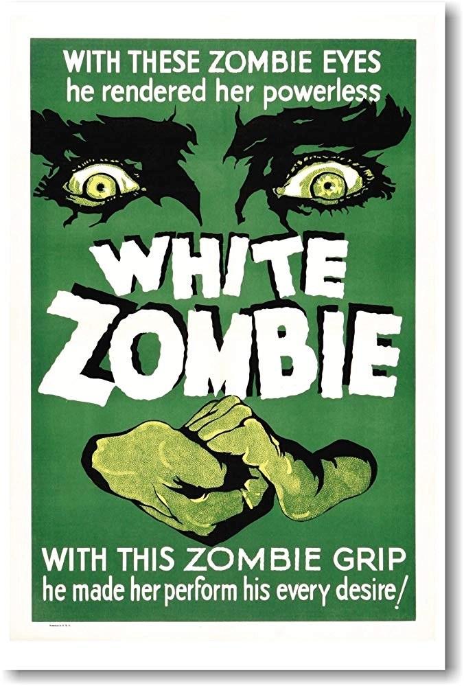 L'isola degli zombies (1932) locandina