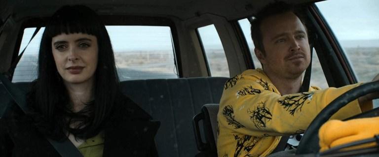 Aaron Paul and Krysten Ritter in El Camino A Breaking Bad Movie (2019