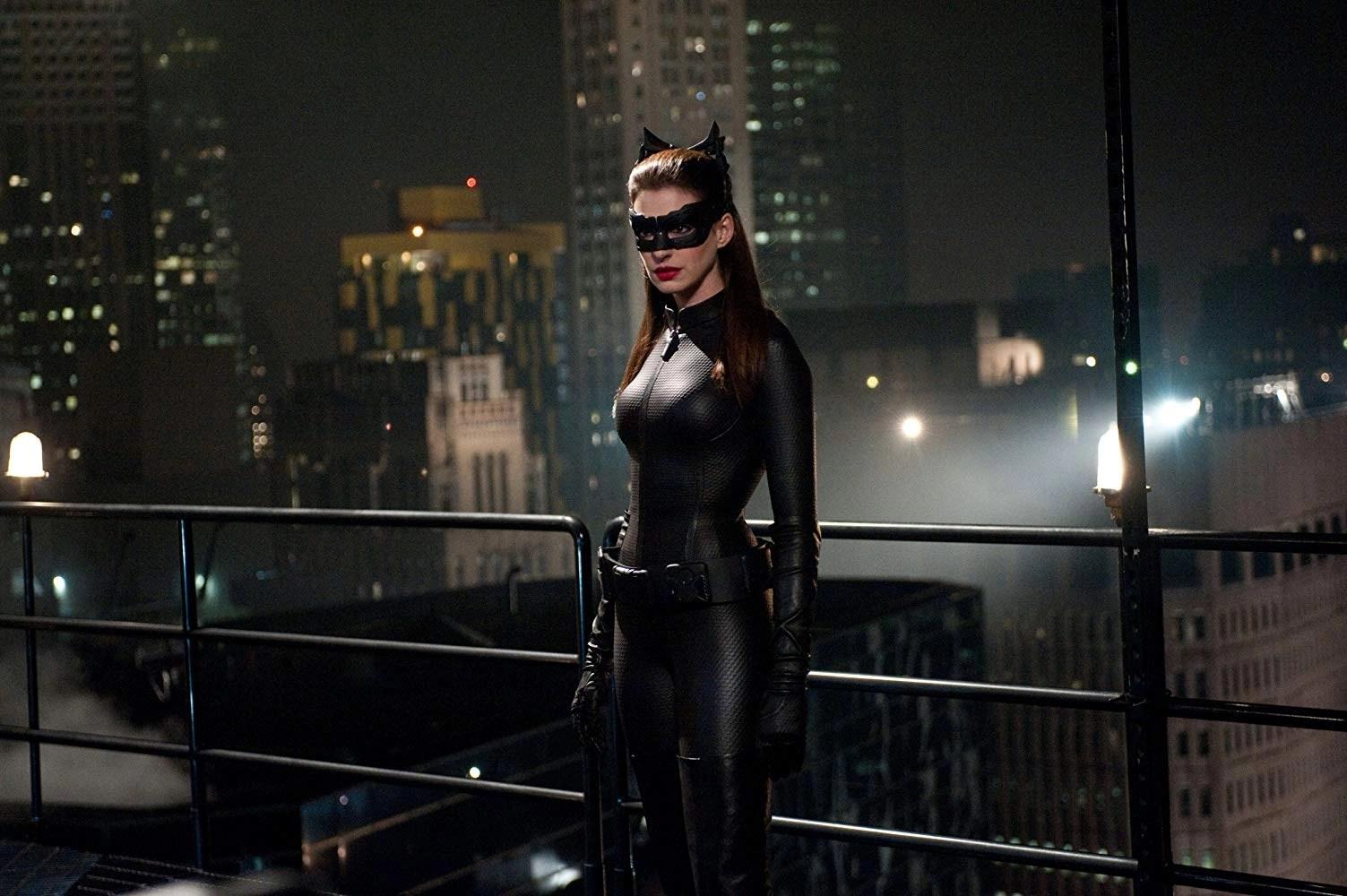 Anne Hathaway inIl Cavaliere Oscuro – Il ritorno