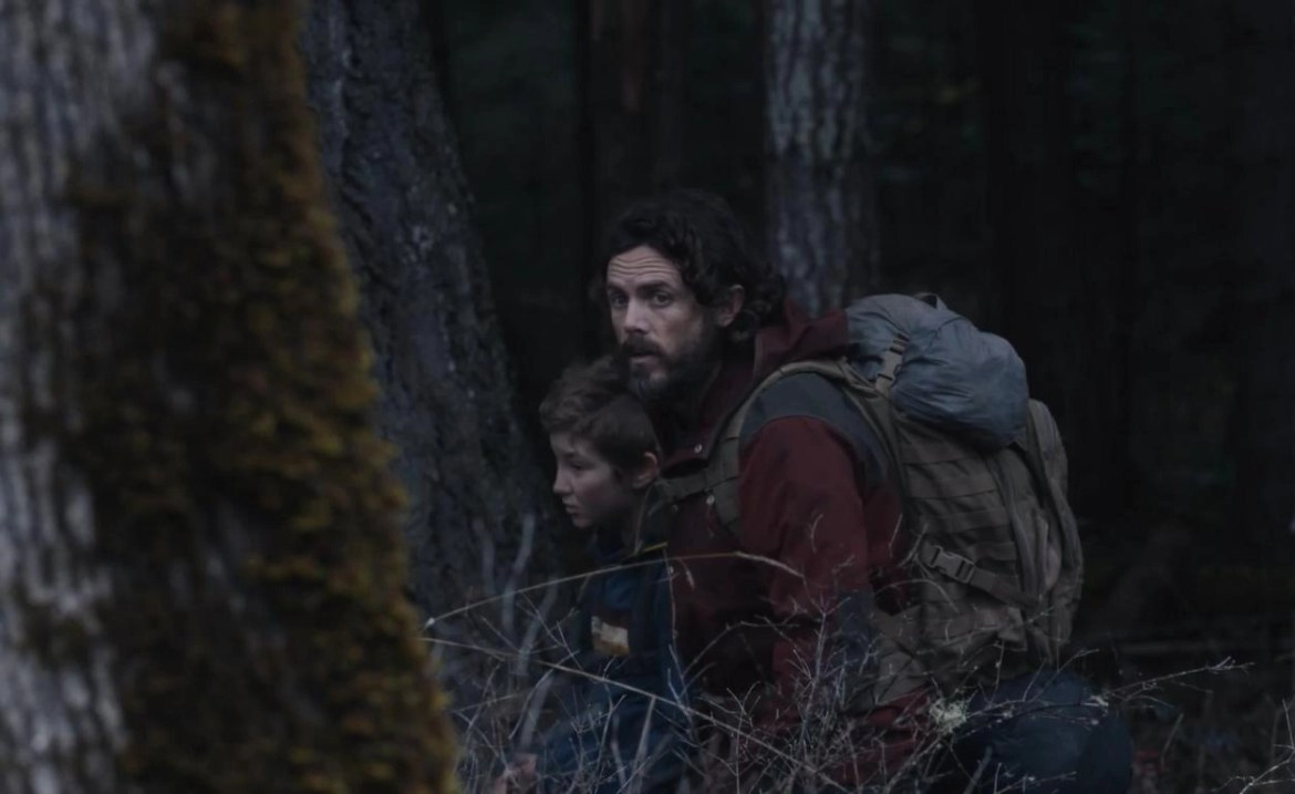 Casey Affleck and Anna Pniowsky in Light of My Life (2019)