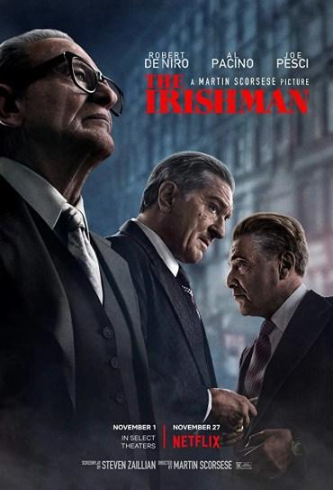 La locandina recensione di The Irishman (2019)