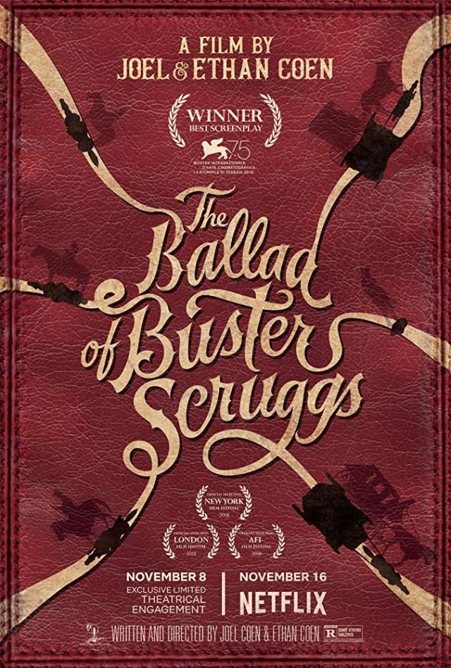 La ballata di Buster Scruggs locandina film