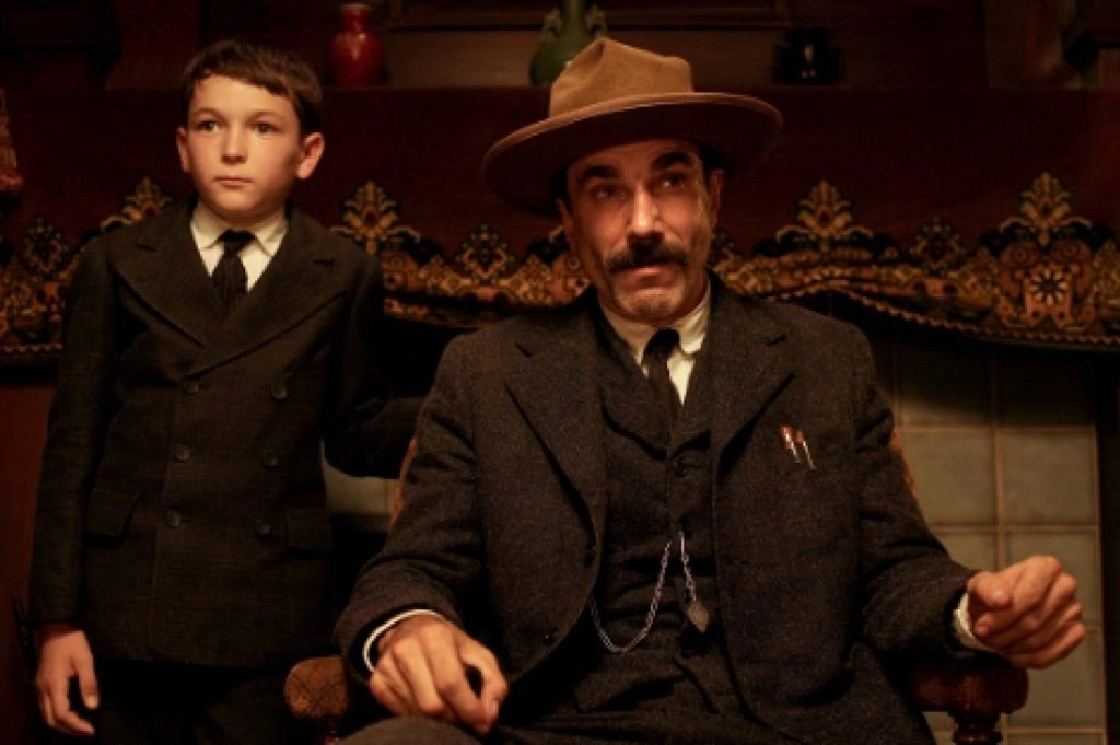 Daniel Day-Lewis and Dillon Freasier in There Will Be Blood (2007)