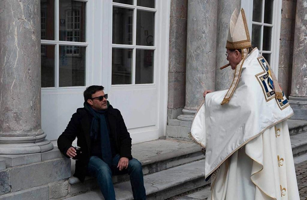 François Marthouret and François Ozon in Grâce à Dieu (2018) grazie a dio