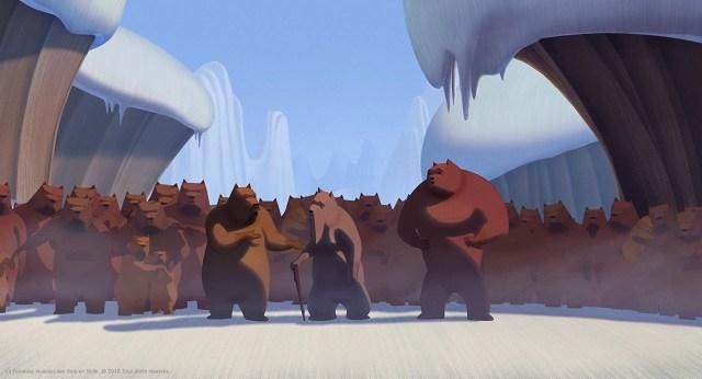 La famosa invasione degli Orsi in Sicilia scena film
