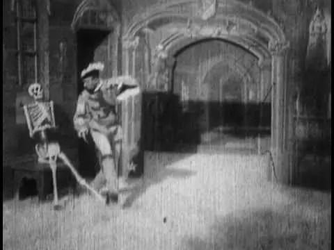 Le manoir du diable scheletro