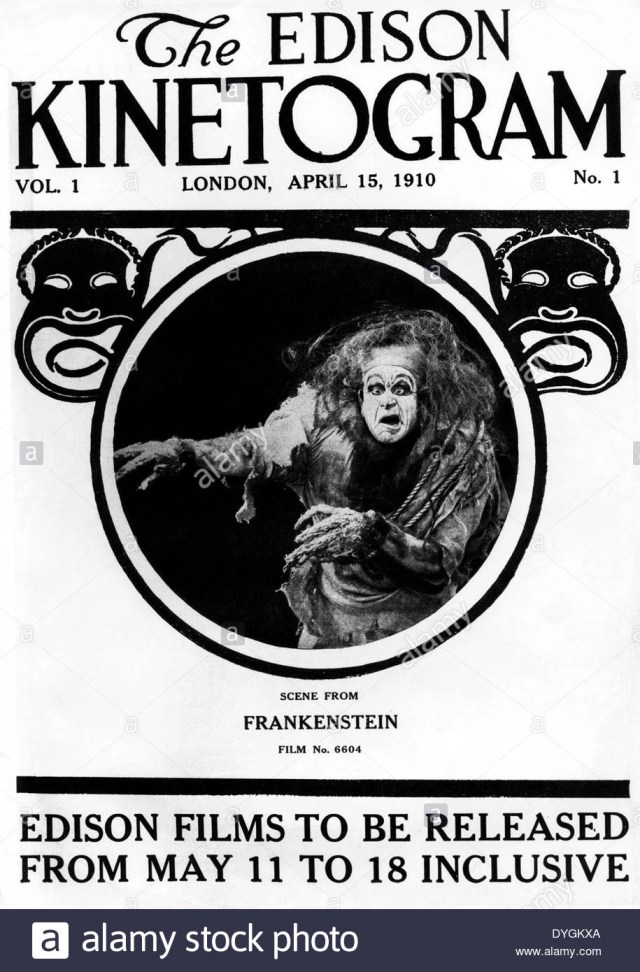 frankenstein 1910 locandina