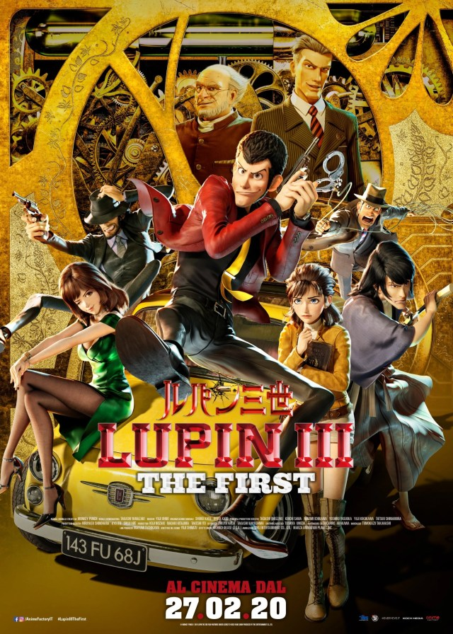 Poster lupin III the first