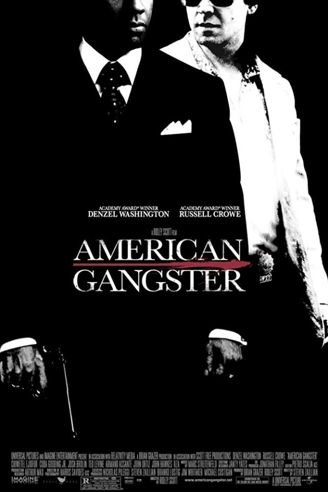 locandina di American Gangster (2007)