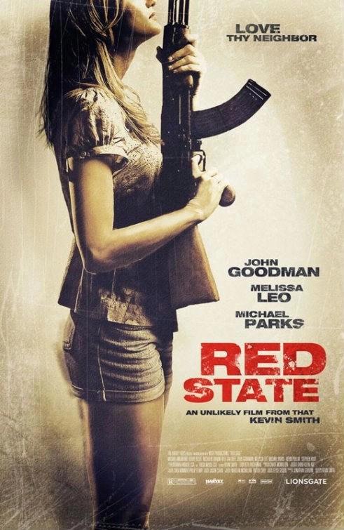 red state locandina del film