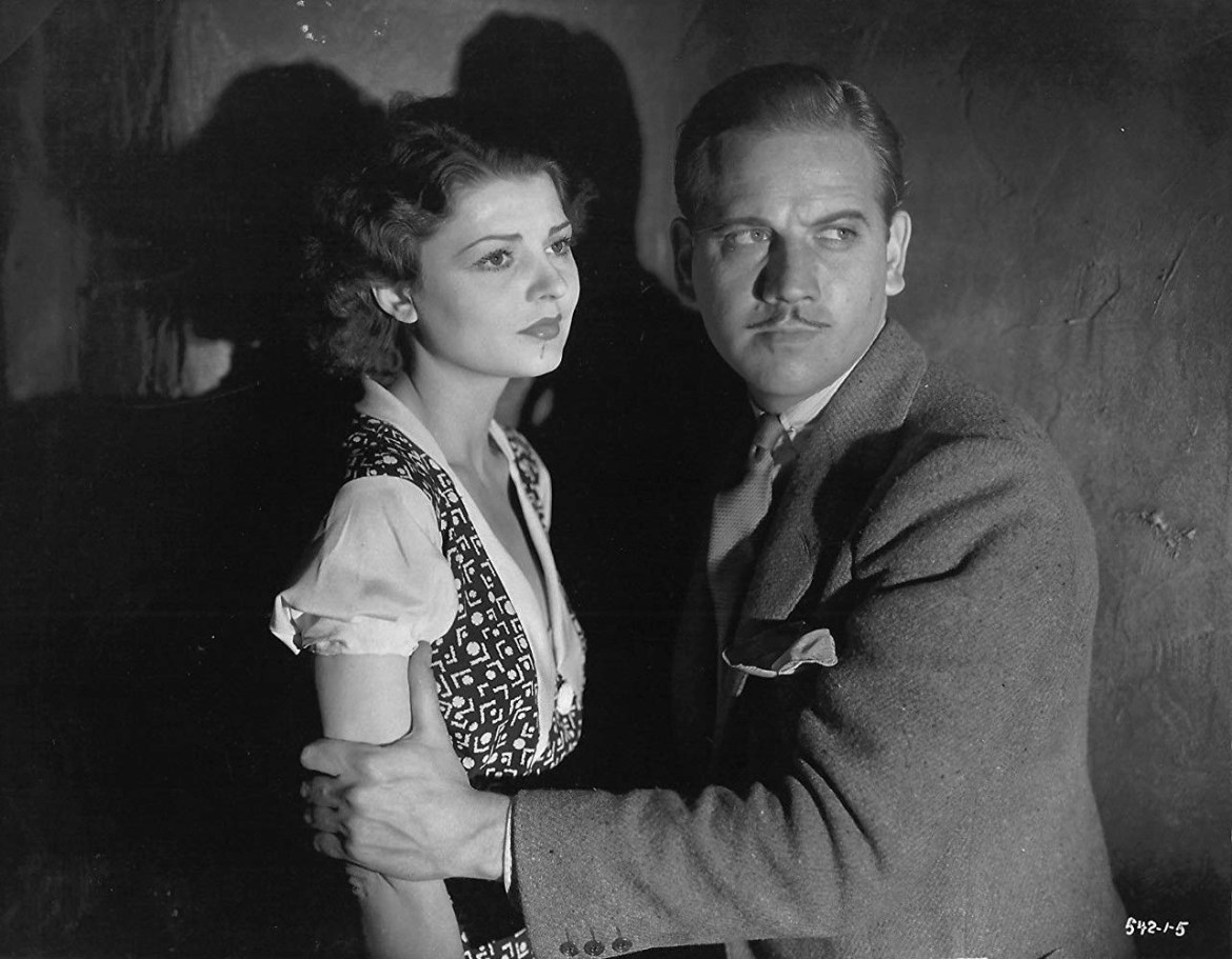 Melvyn Douglas and Lilian Bond in The Old Dark House (1932) recensione film