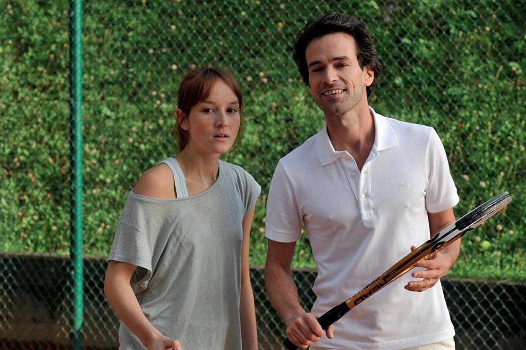 Anaïs Demoustier  e Romain Duris in Una nuova amica