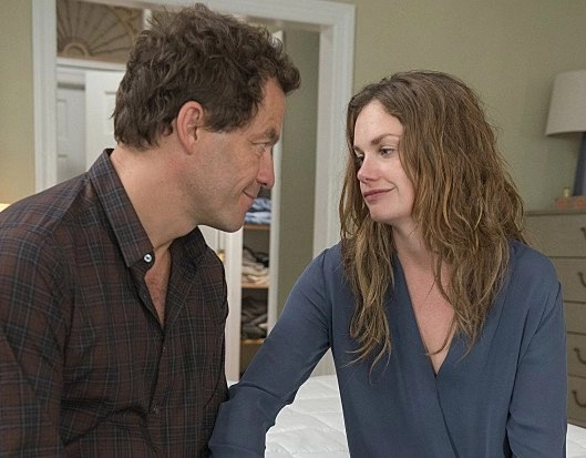 Dominic West e Ruth Wilson in The Affair