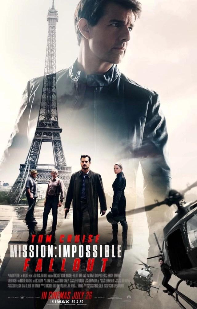 Locandina di Mission: Impossible Fallout