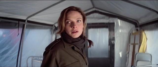 Lo sguardo di Ilsa Faust nel finale di Mission: Impossible Fallout