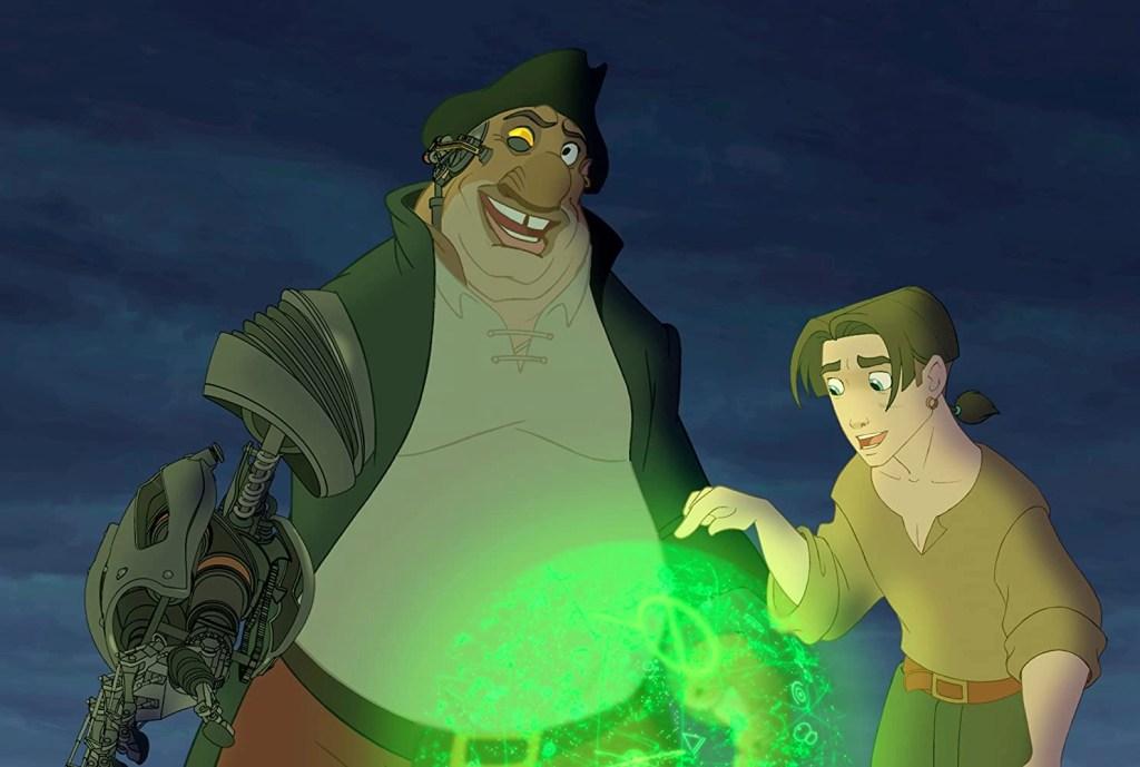 Joseph Gordon-Levitt e Brian Murray in Il pianeta del tesoro (2002)