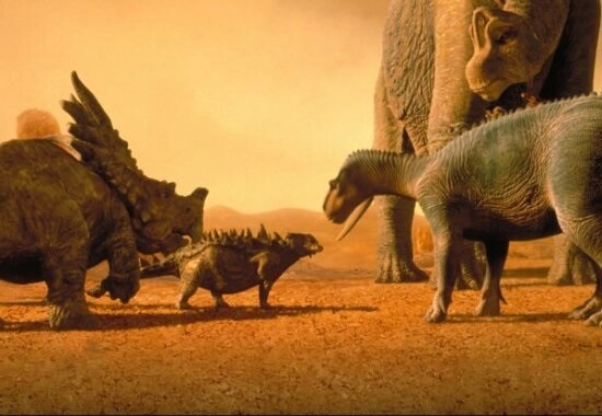 scena film Dinosauri disney