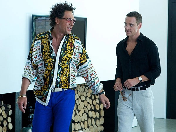 Javier Bardem e Michael Fassbender in The Counselor