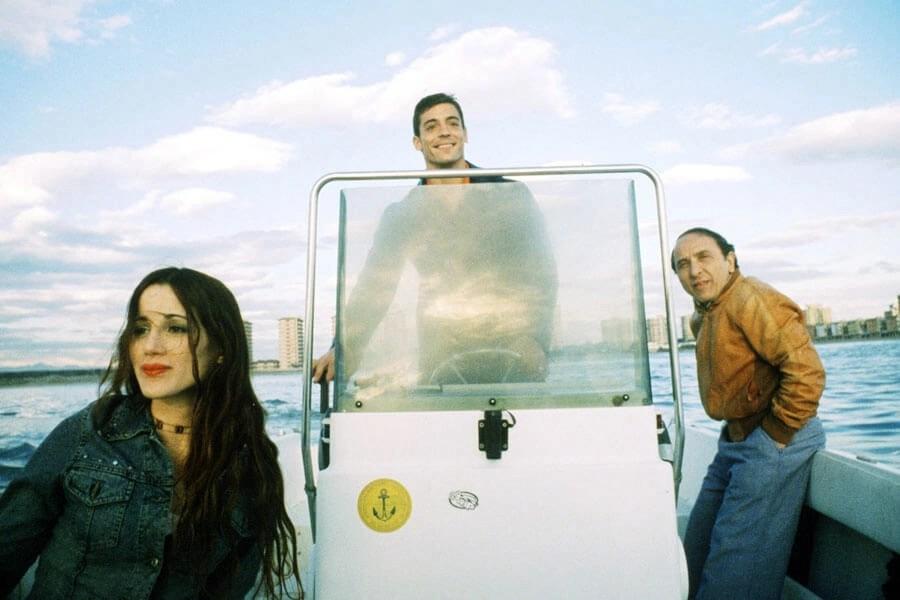 Ernesto Mahieux, Elisabetta Rocchetti, e Valerio Foglia Manzillo in L'imbalsamatore (2002)