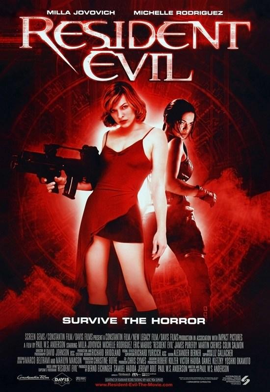 Resident Evil locandina