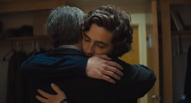 Steve Carell e Timothée Chalamet in Beautiful Boy (2018)
