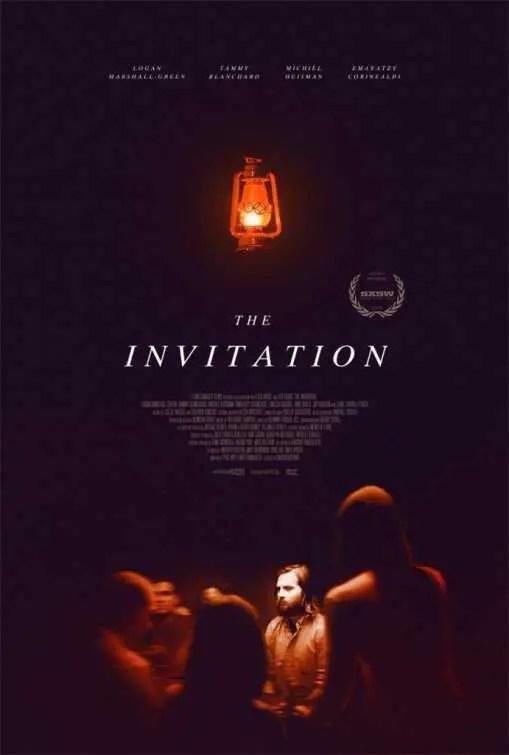 the invitation locandina
