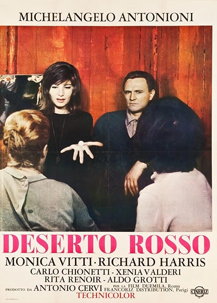 Il deserto rosso (1964) Locandina