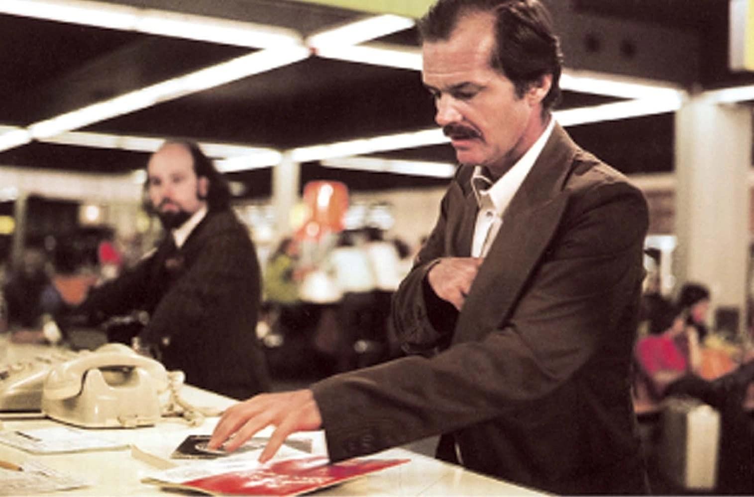 Jack Nicholson in Professione reporter